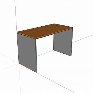 escritorio simple trabajo